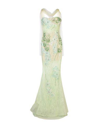 Фото - Женское длинное платье MUSANI COUTURE светло-зеленого цвета