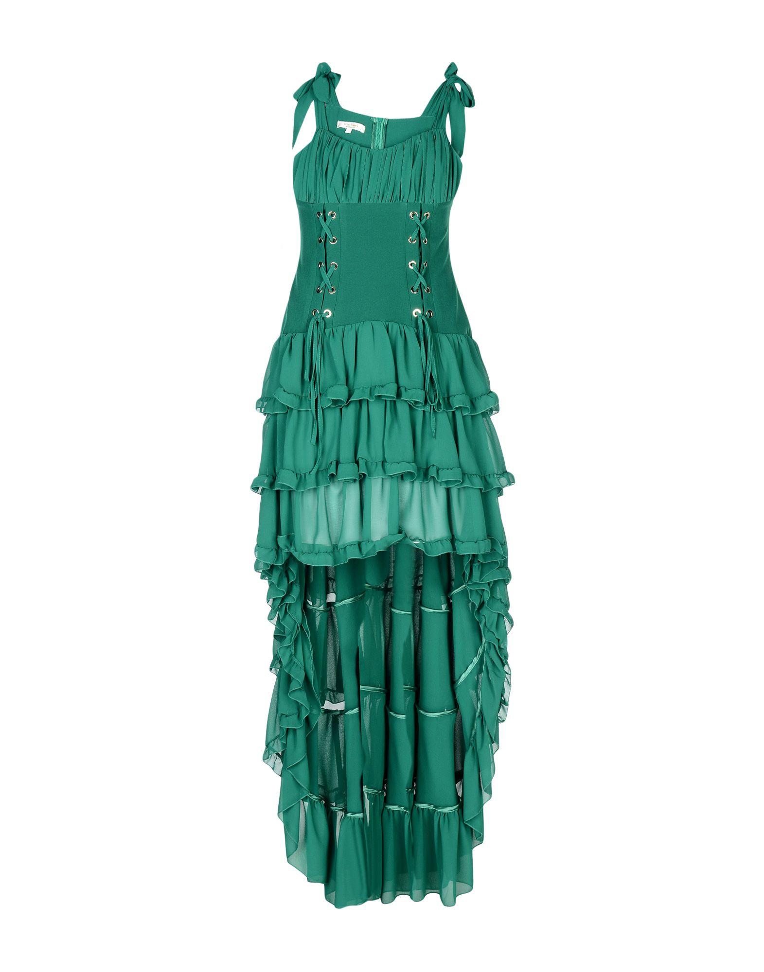 W LES FEMMES Длинное платье prism длинное платье