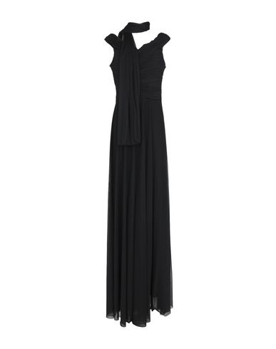 Фото - Женское длинное платье MUSANI COUTURE черного цвета