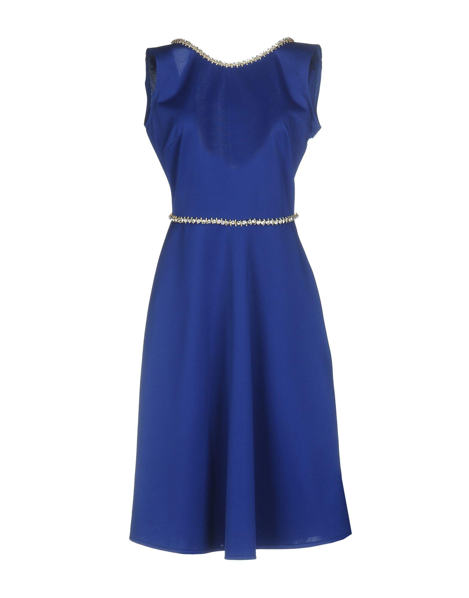 MUSANI GOLD Платье до колена musani gold длинное платье