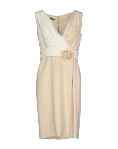Фото - Женское короткое платье BOTONDI MILANO бежевого цвета