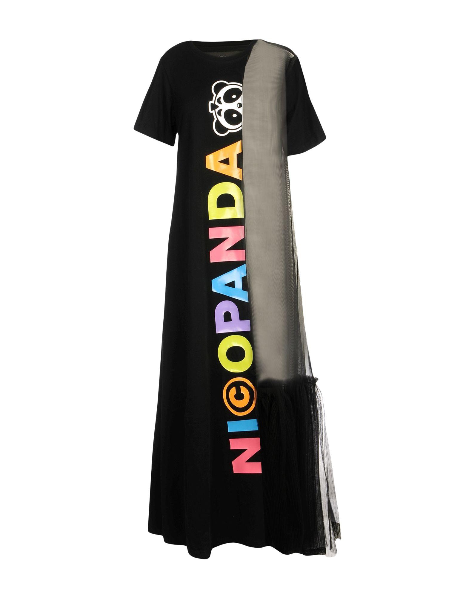 NICOPANDA Длинное платье