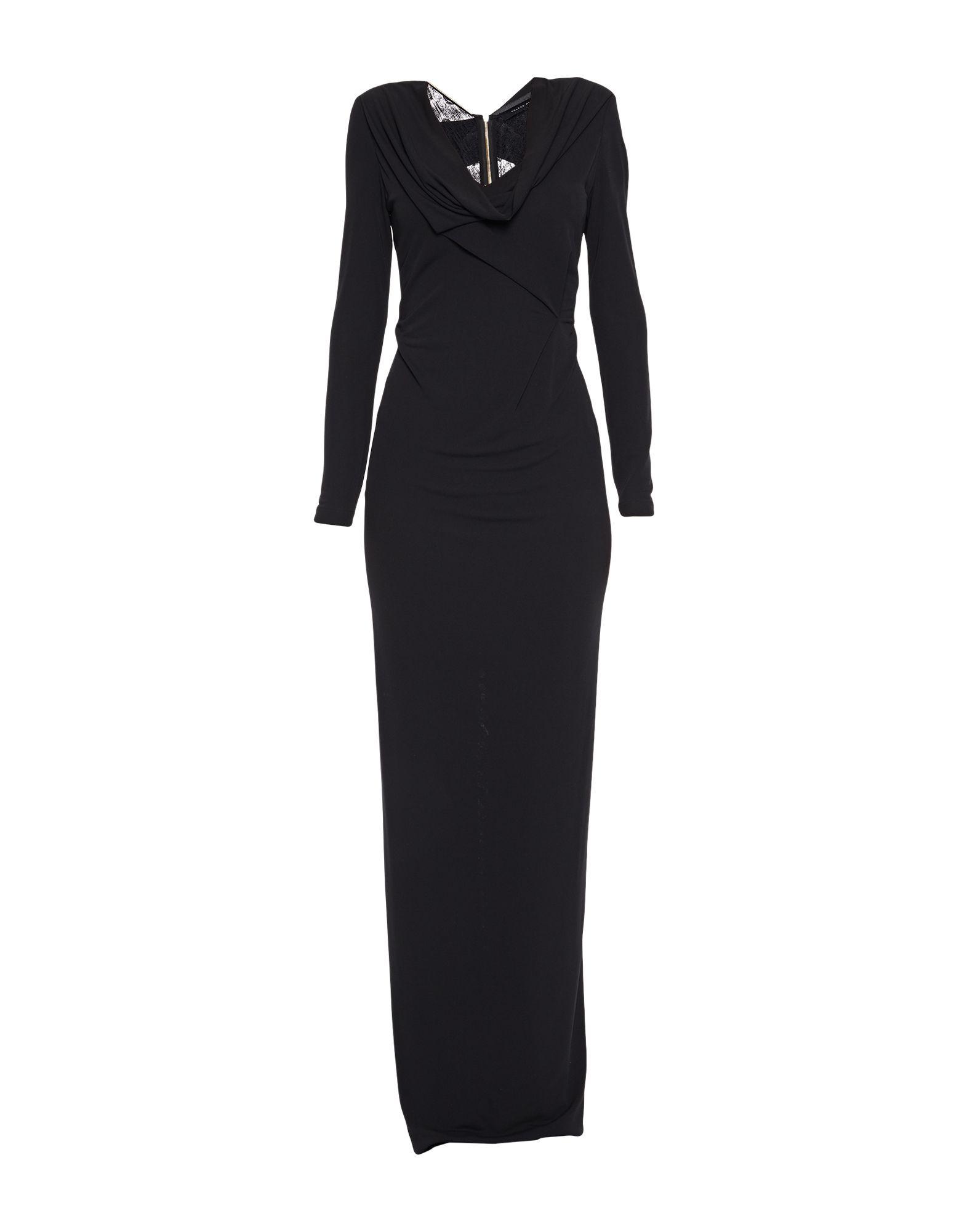 ROLAND MOURET Длинное платье цены онлайн