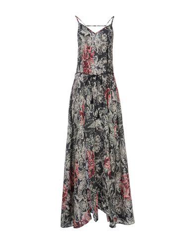 Купить Женское длинное платье BLACK CORAL темно-зеленого цвета
