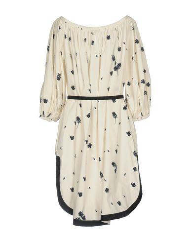 Фото 2 - Платье до колена от RACHEL COMEY белого цвета