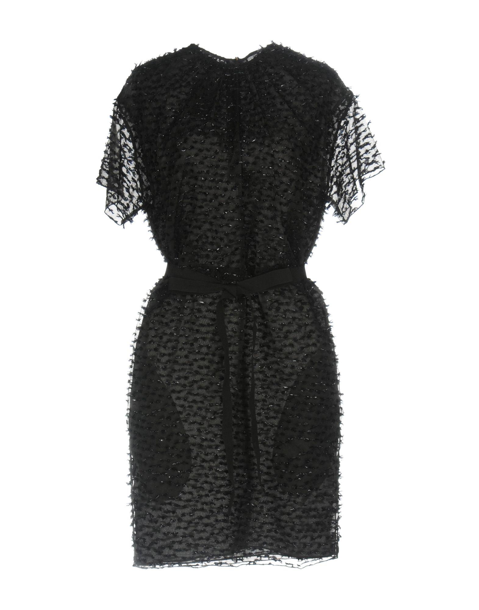 ROCHAS Damen Kurzes Kleid Farbe Schwarz Größe 3 jetztbilligerkaufen
