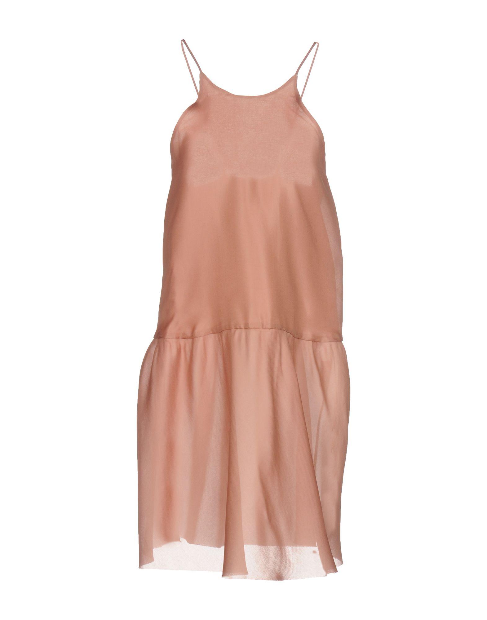 ERIKA CAVALLINI Damen Kurzes Kleid Farbe Altrosa Größe 4 jetztbilligerkaufen