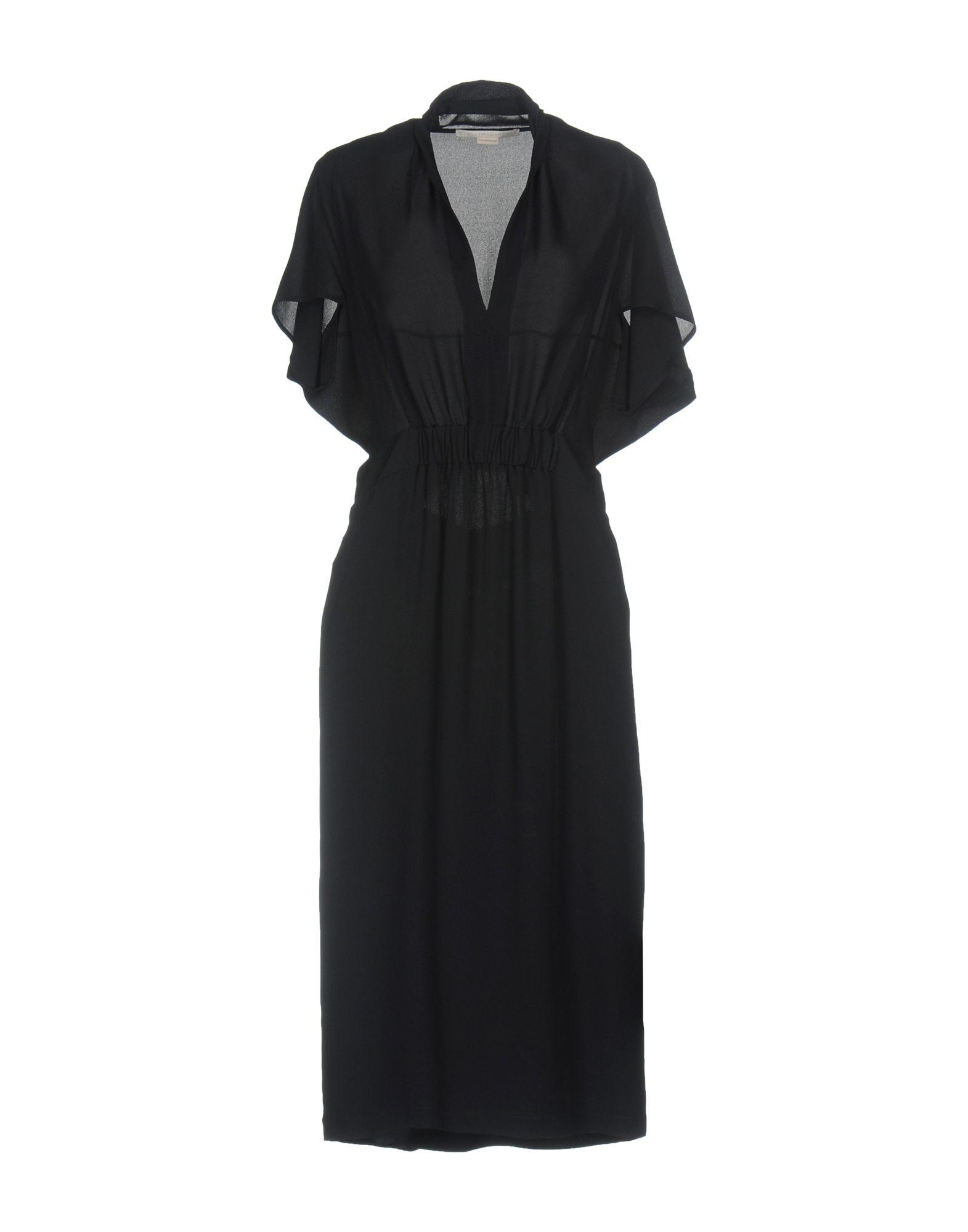 STELLA McCARTNEY Damen Midikleid Farbe Dunkelblau Größe 6 jetztbilligerkaufen