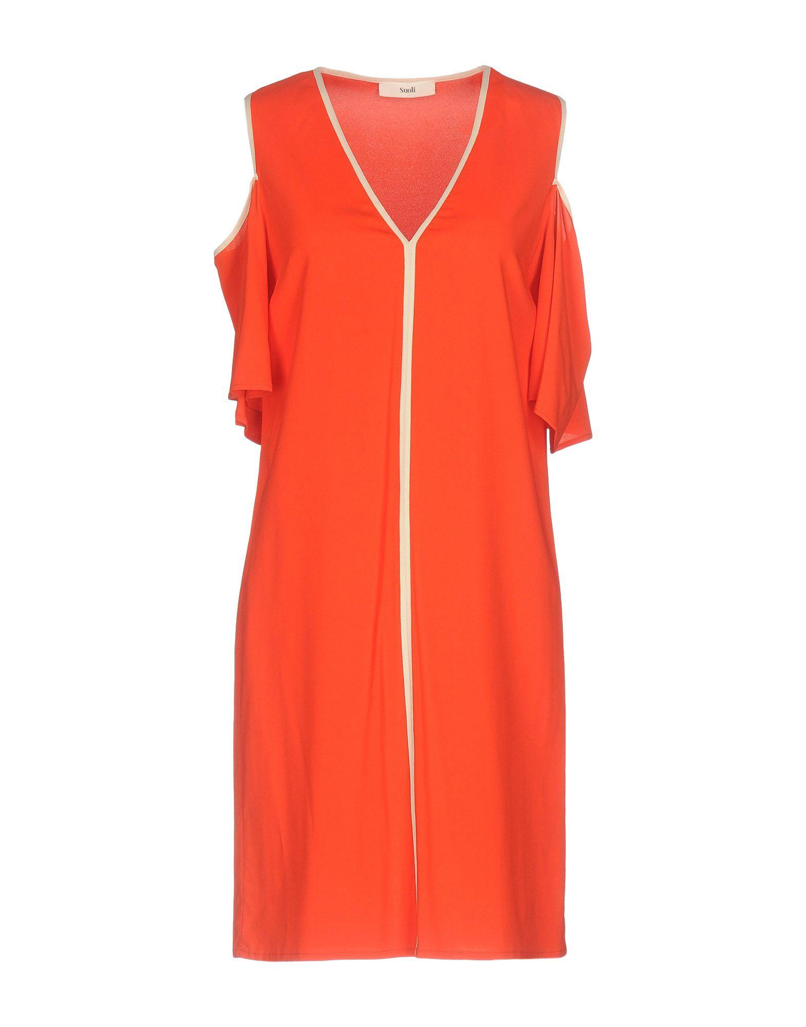 SUOLI Короткое платье lisa corti короткое платье