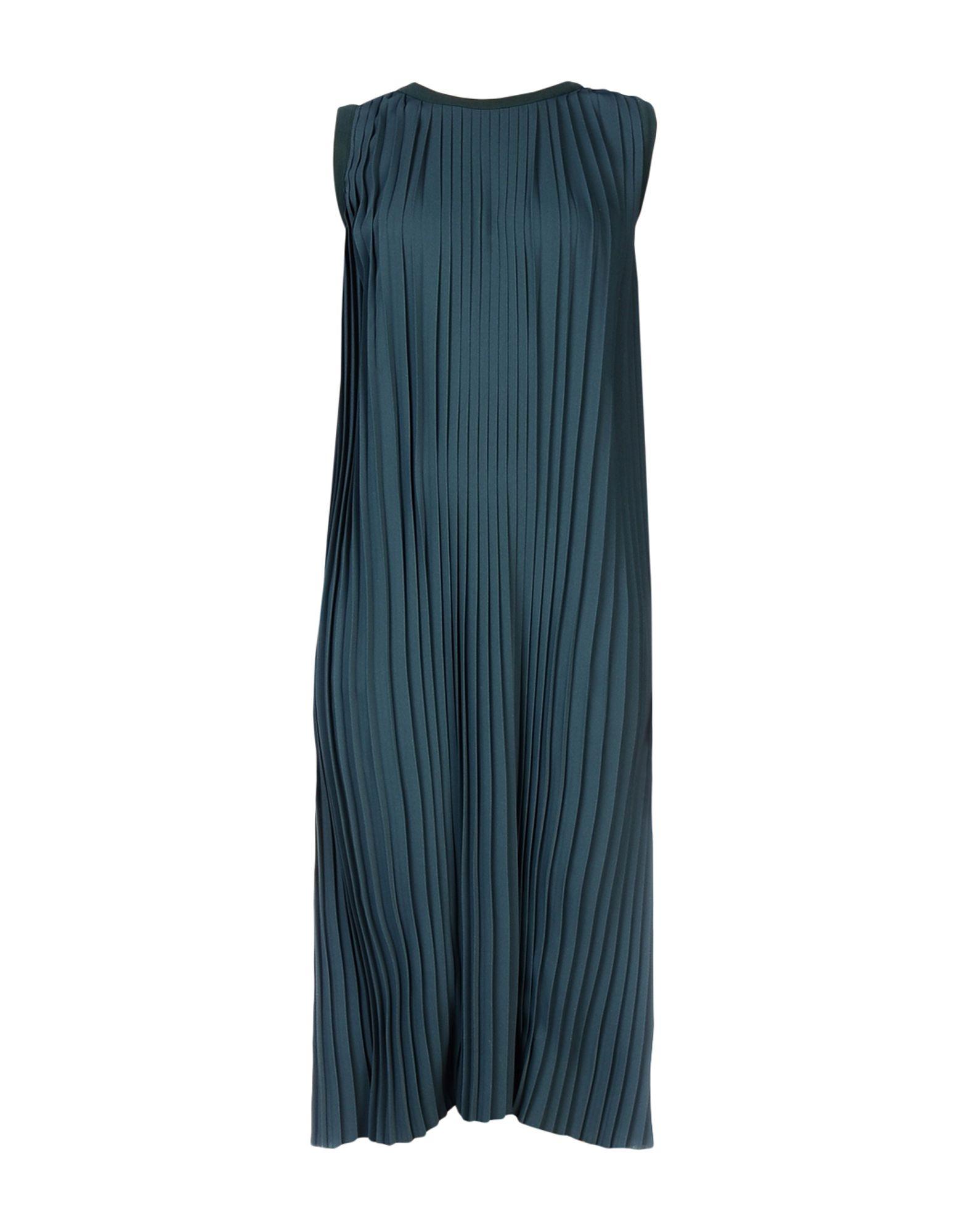 MM6 MAISON MARGIELA Damen Midikleid Farbe Dunkelgrün Größe 5 jetztbilligerkaufen
