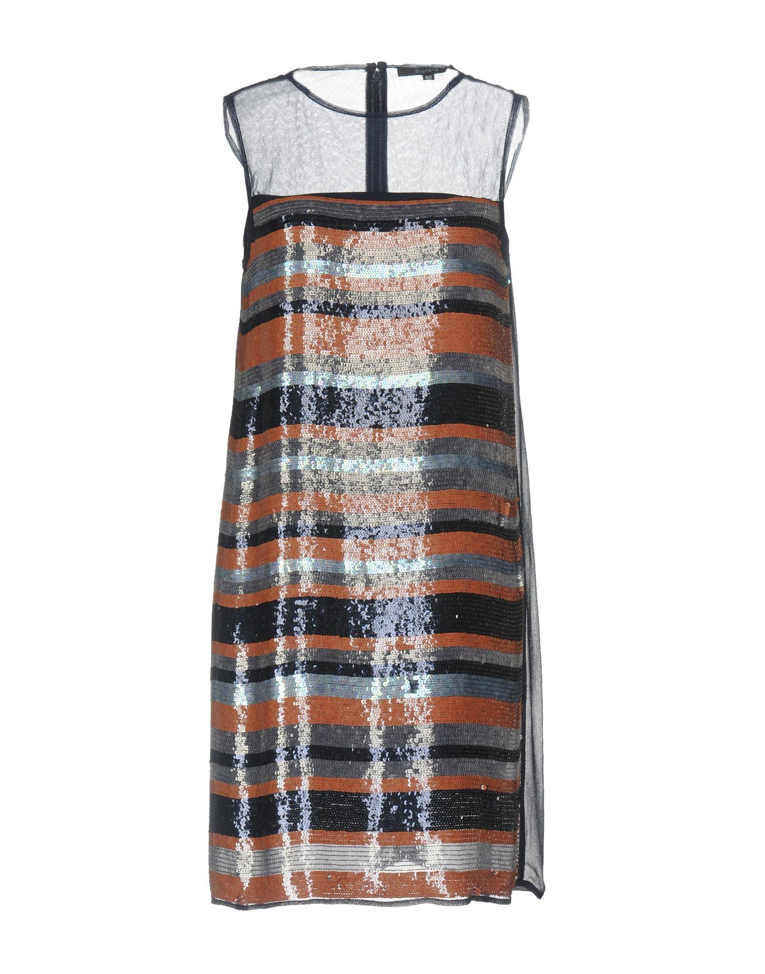SISTE´ S Damen Kurzes Kleid Farbe Dunkelblau Größe 6 jetztbilligerkaufen