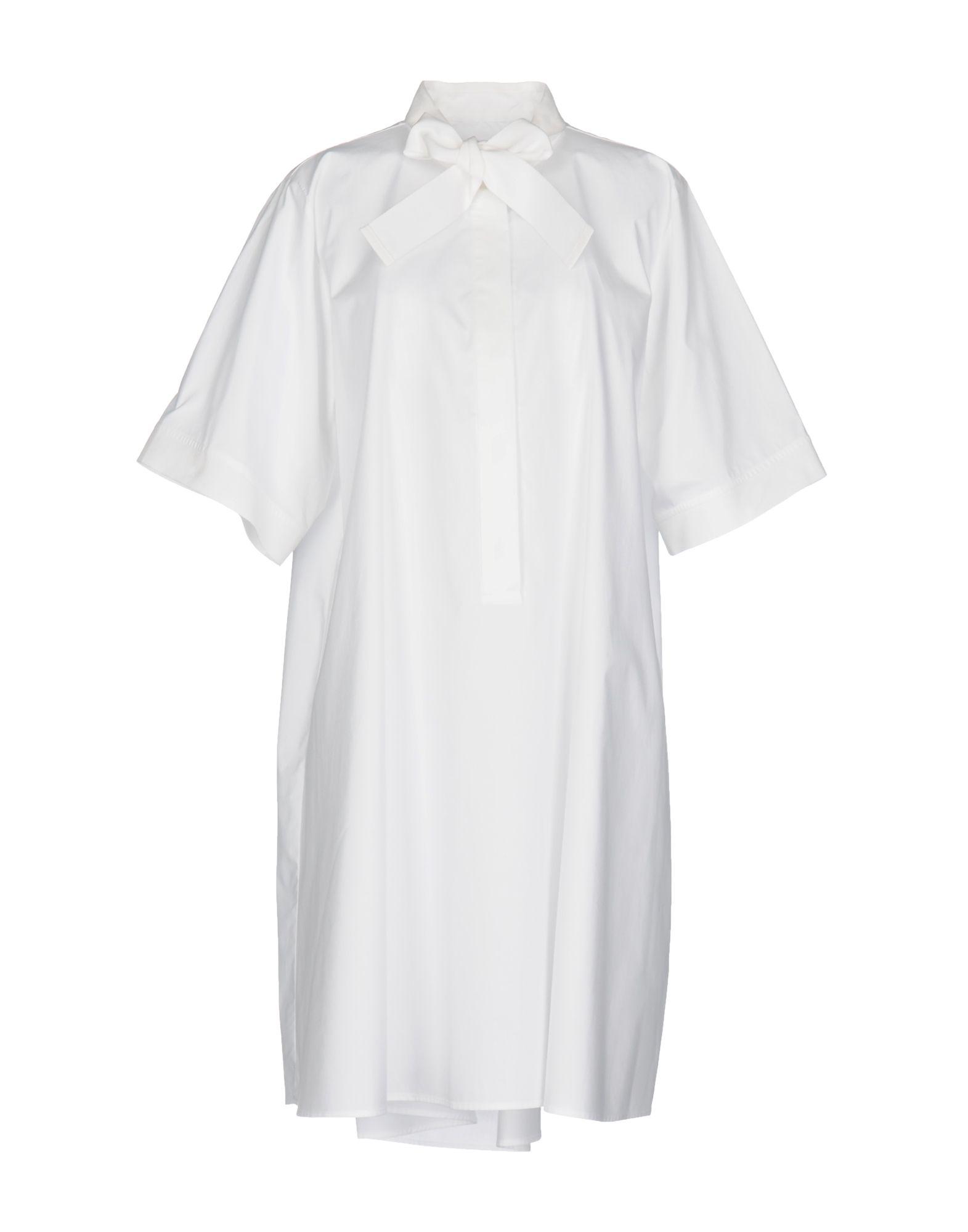 MM6 MAISON MARGIELA Damen Kurzes Kleid Farbe Weiß Größe 5 jetztbilligerkaufen