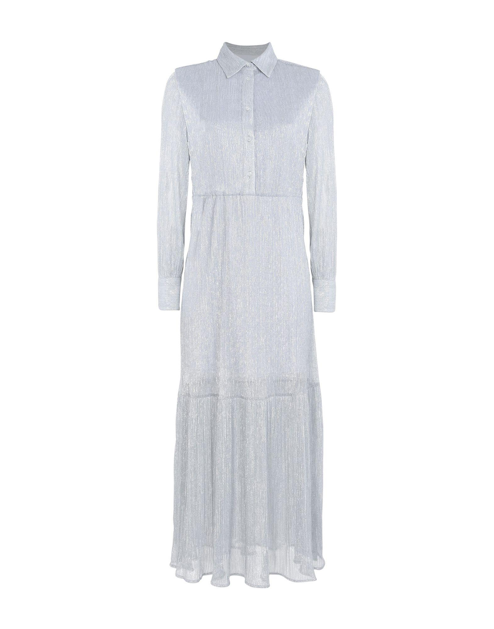 8 Damen Langes Kleid Farbe Hellgrau Größe 3 jetztbilligerkaufen