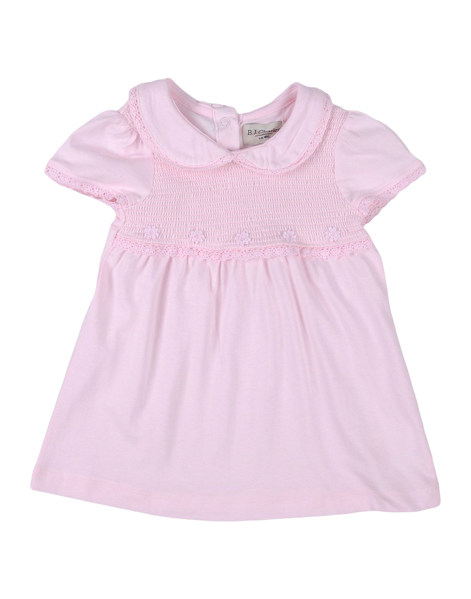 B.j.charles Kids' Dresses In Pink