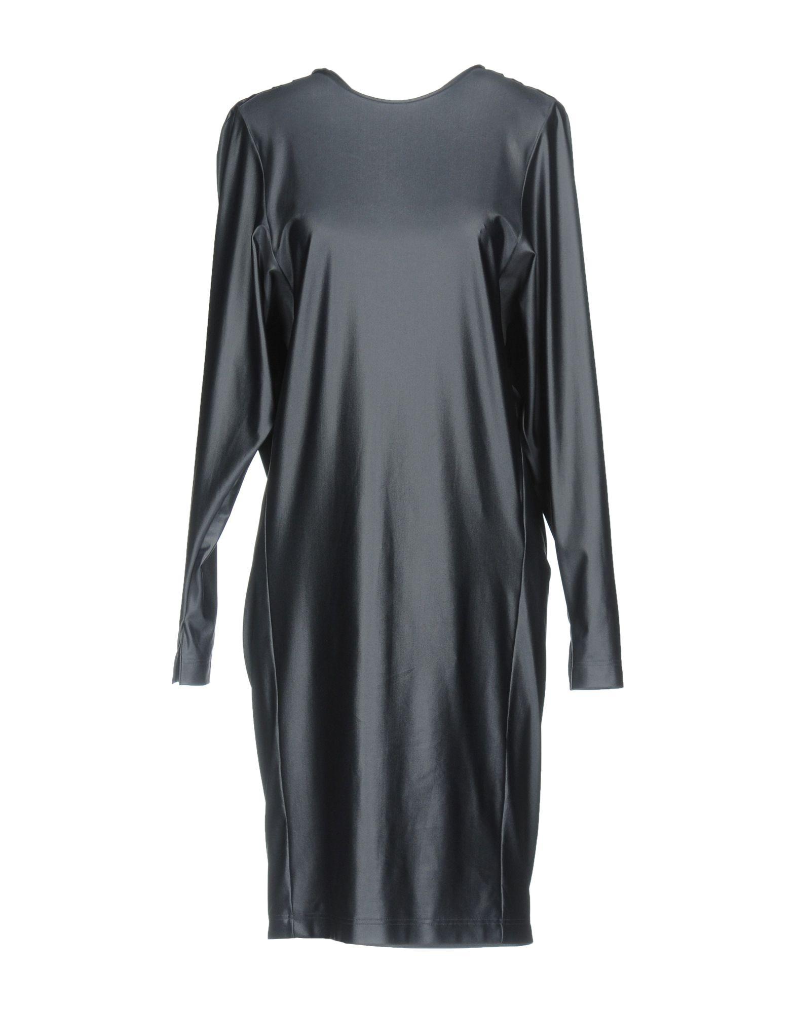 BALENCIAGA Damen Knielanges Kleid Farbe Blei Größe 5 jetztbilligerkaufen