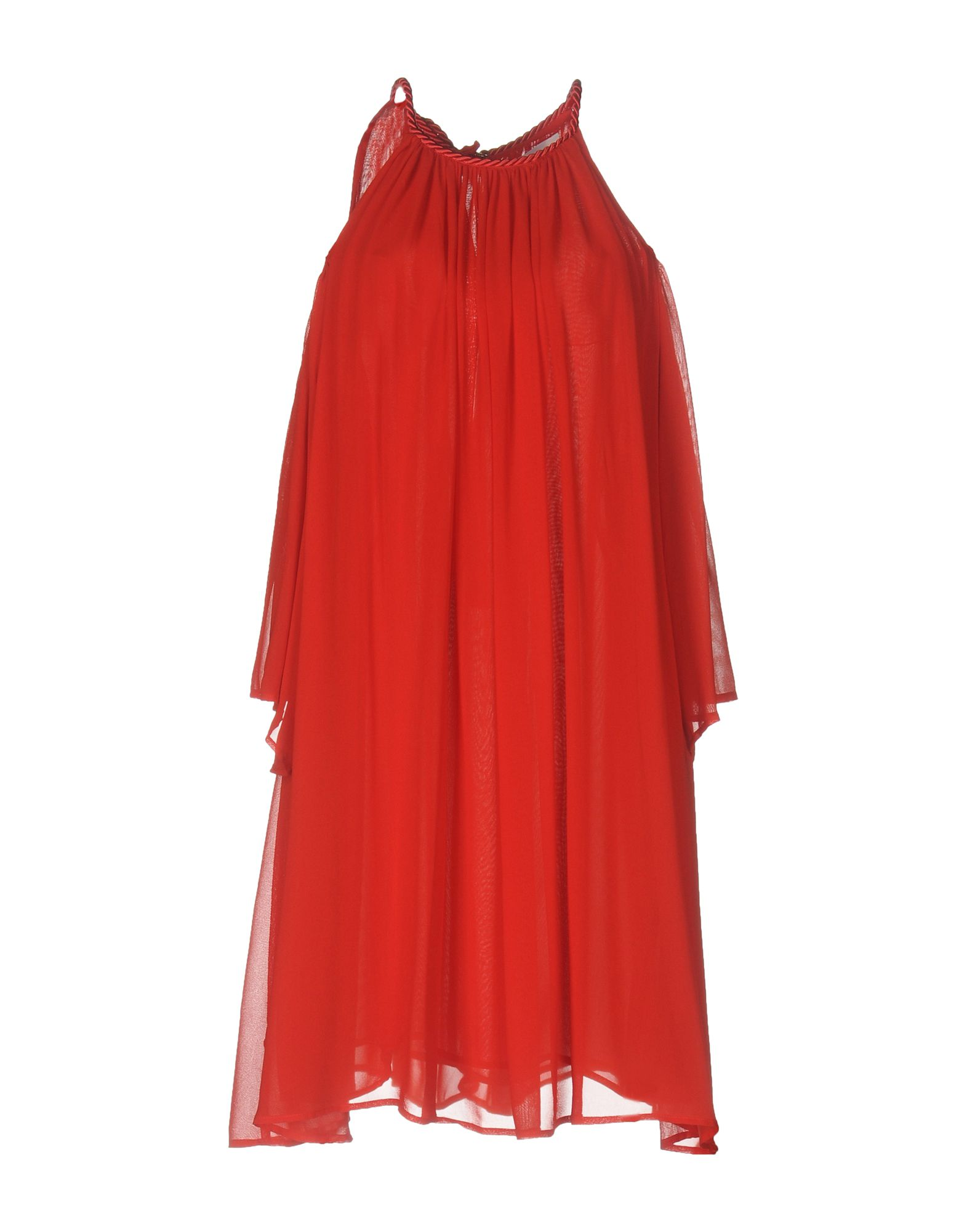 JUCCA Damen Kurzes Kleid Farbe Rot Größe 4 jetztbilligerkaufen