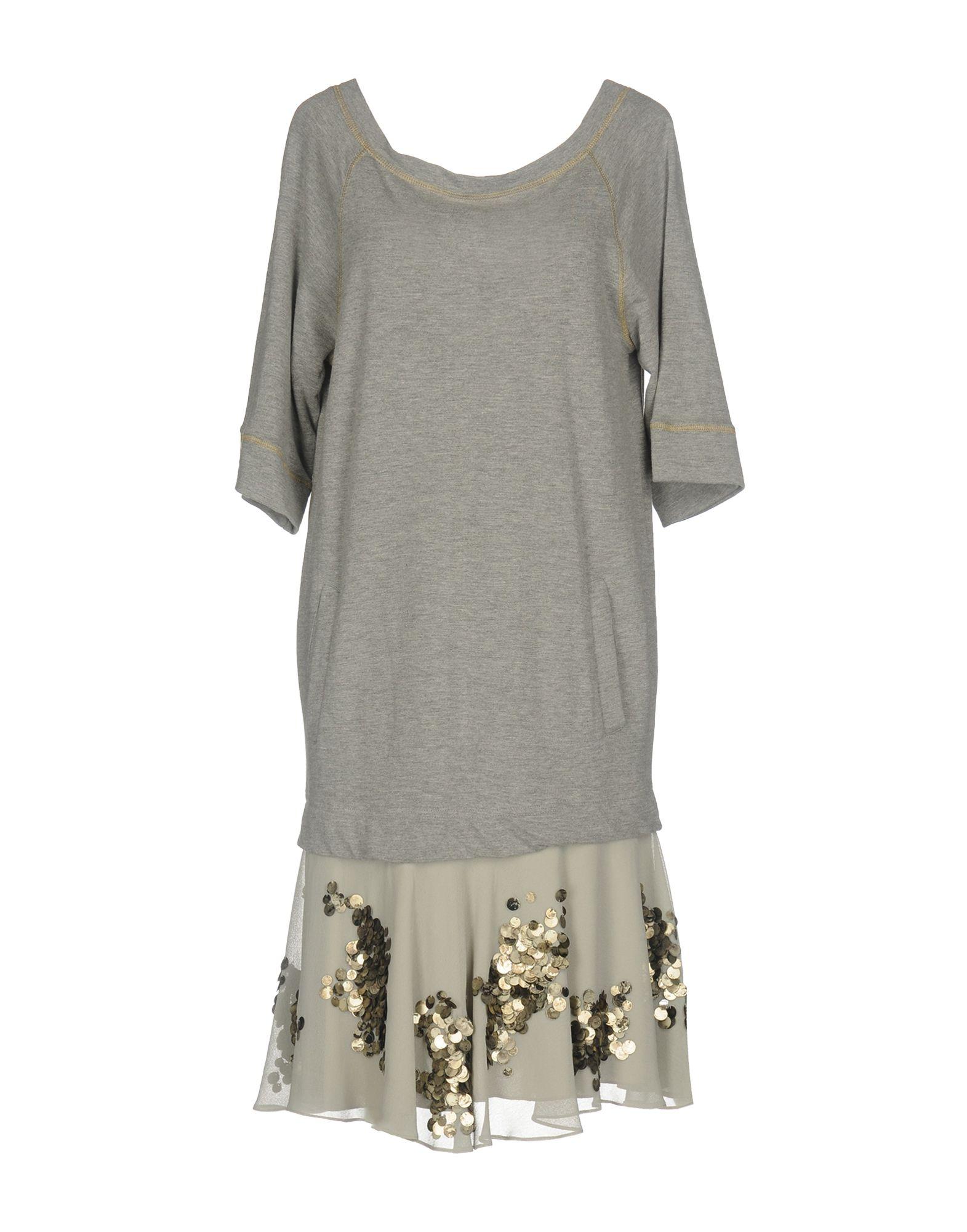 SISTE´ S Damen Kurzes Kleid Farbe Grau Größe 5 jetztbilligerkaufen