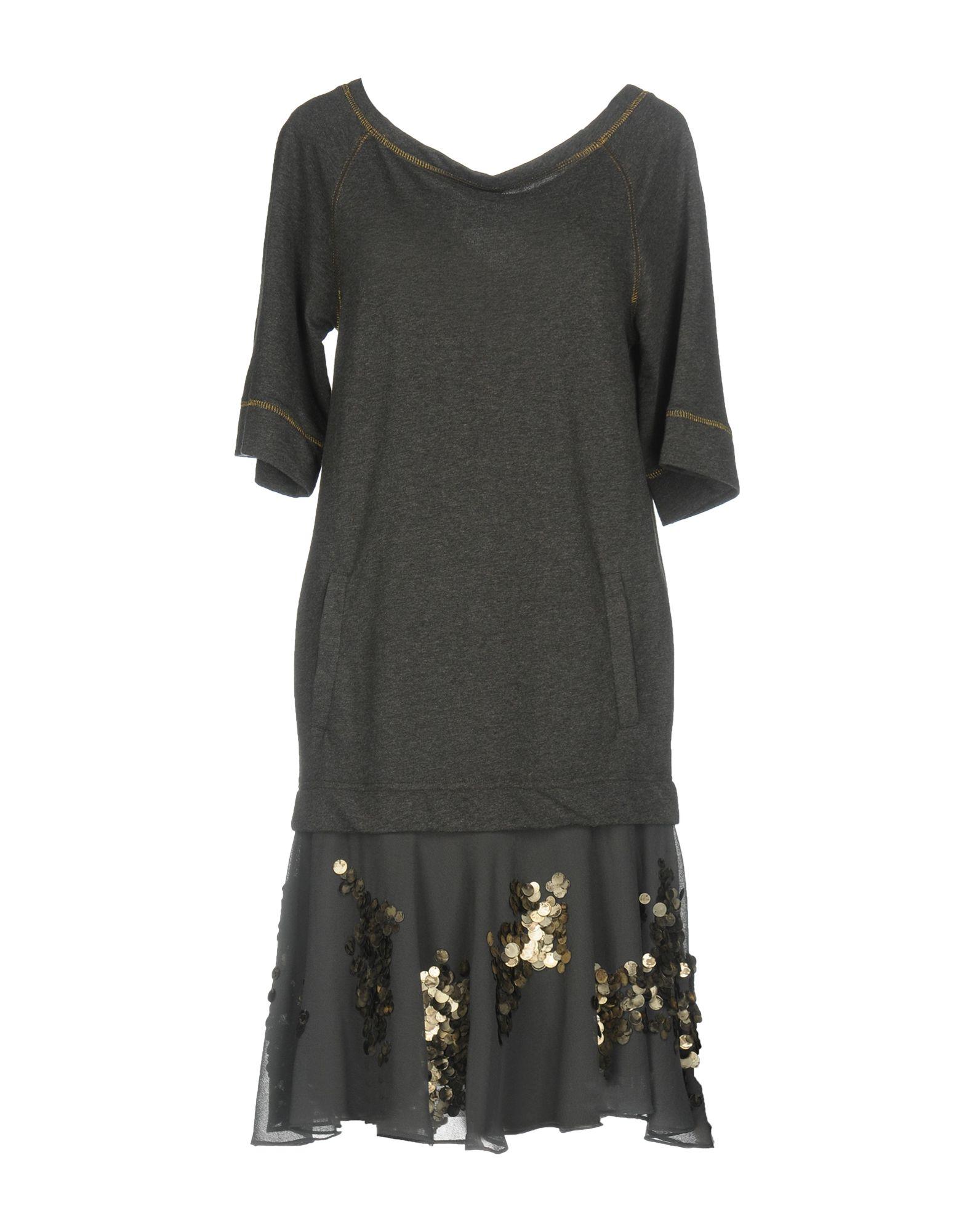 SISTE´ S Damen Kurzes Kleid Farbe Granitgrau Größe 5 jetztbilligerkaufen