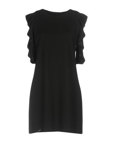 Фото - Женское короткое платье NO-NÀ черного цвета