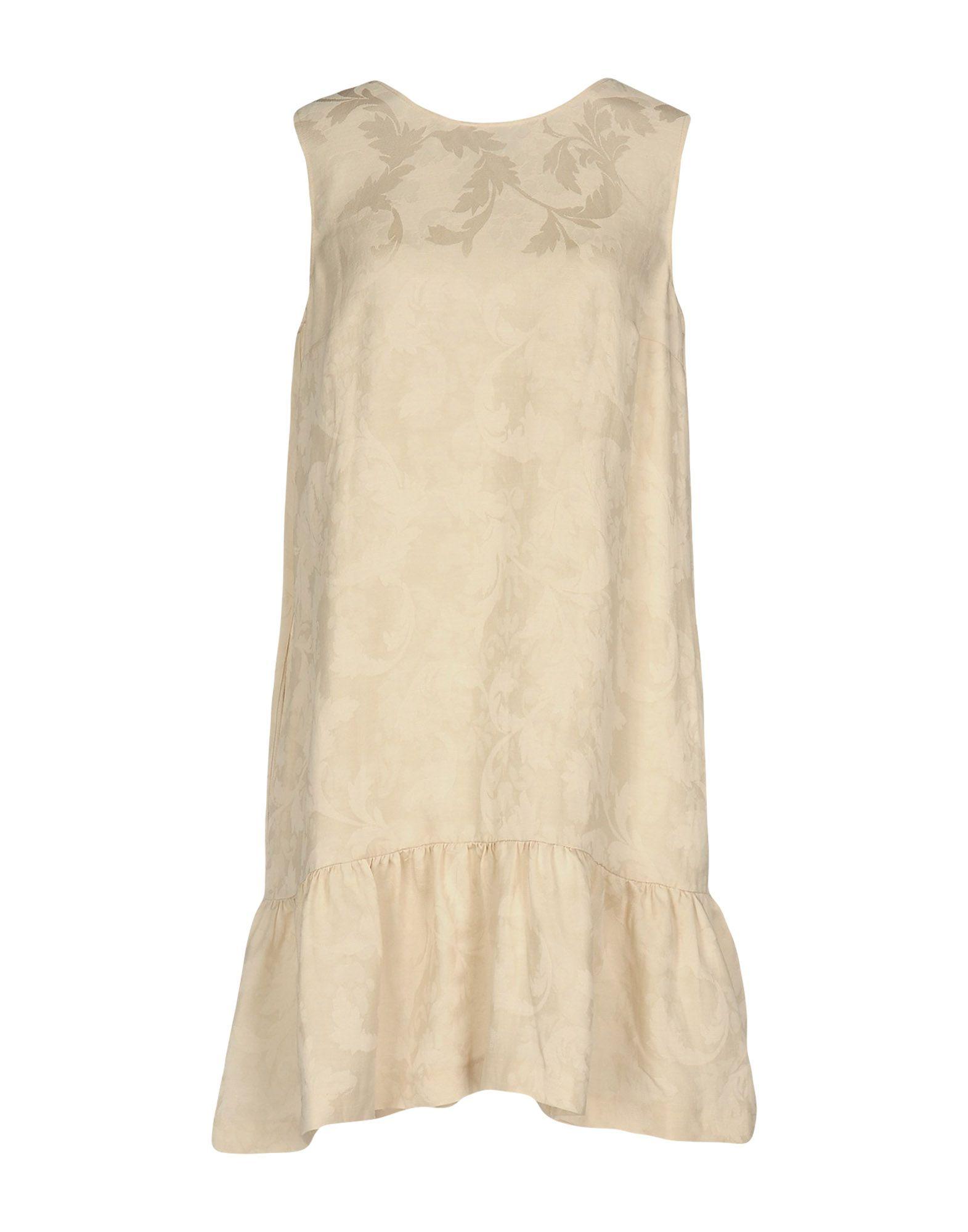 JUCCA Damen Kurzes Kleid Farbe Beige Größe 4 jetztbilligerkaufen