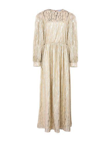 Фото - Женское длинное платье  золотистого цвета