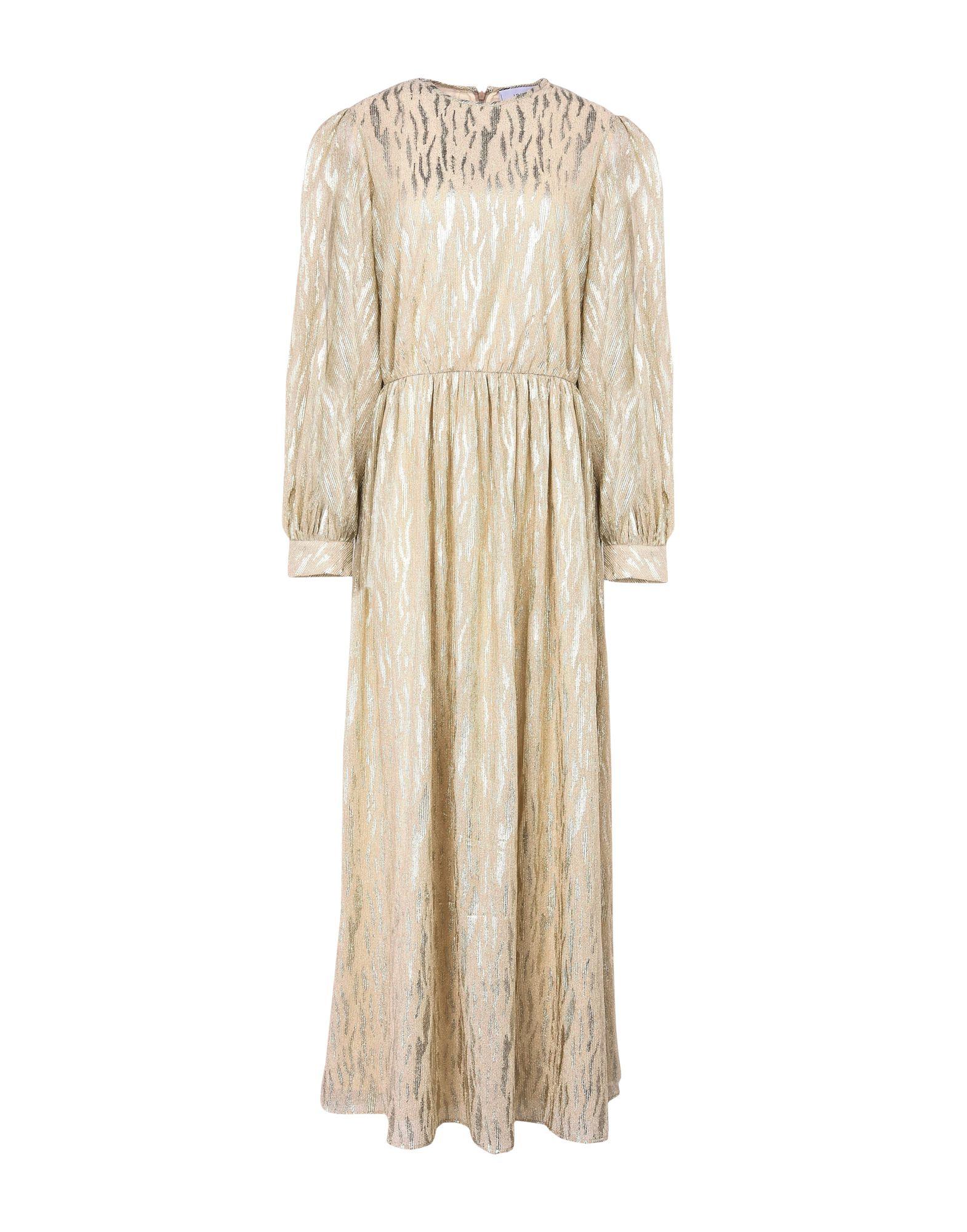 JOLIE by EDWARD SPIERS Damen Langes Kleid Farbe Beige Größe 5 jetztbilligerkaufen