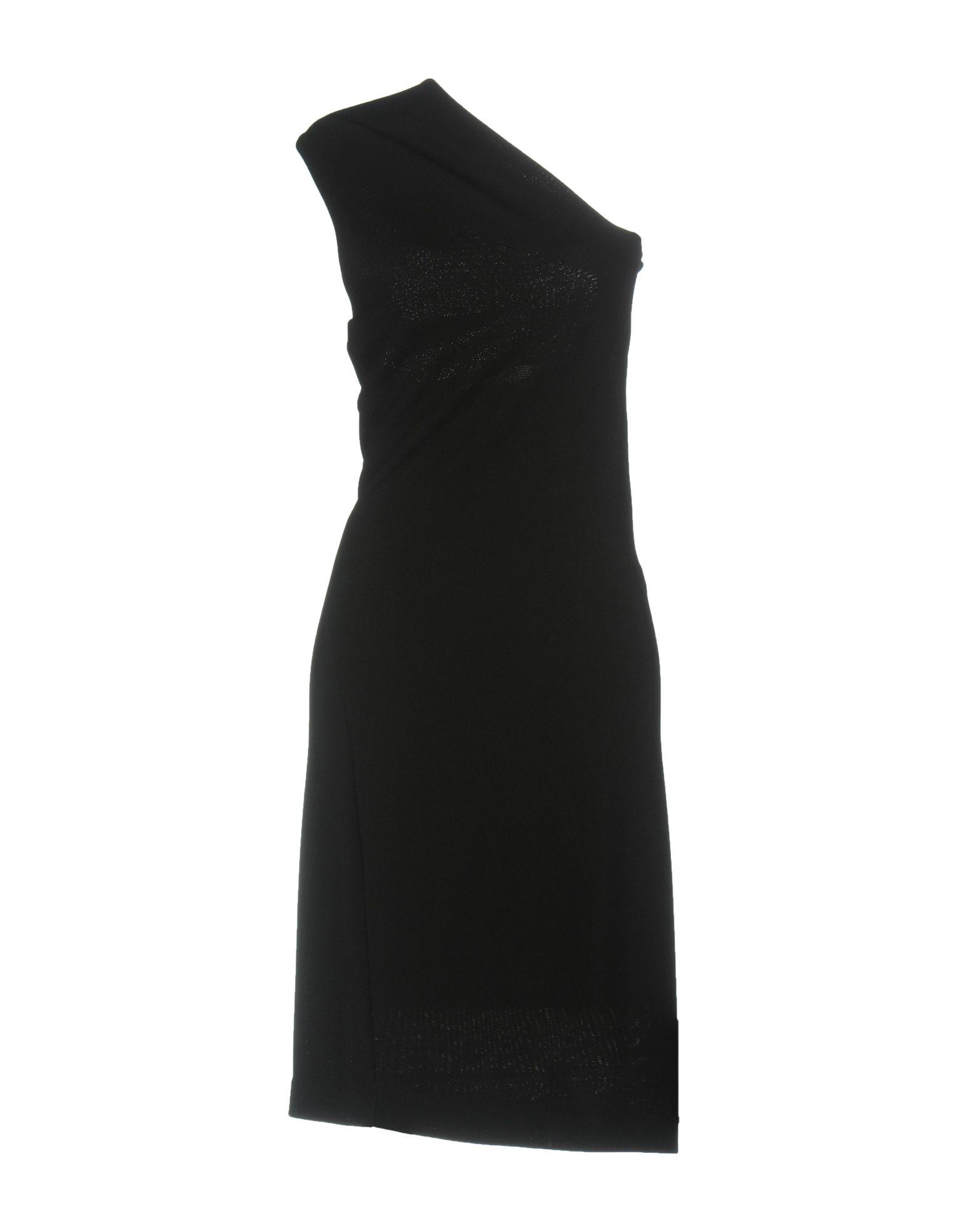 DSQUARED2 Damen Kurzes Kleid Farbe Schwarz Größe 6 jetztbilligerkaufen