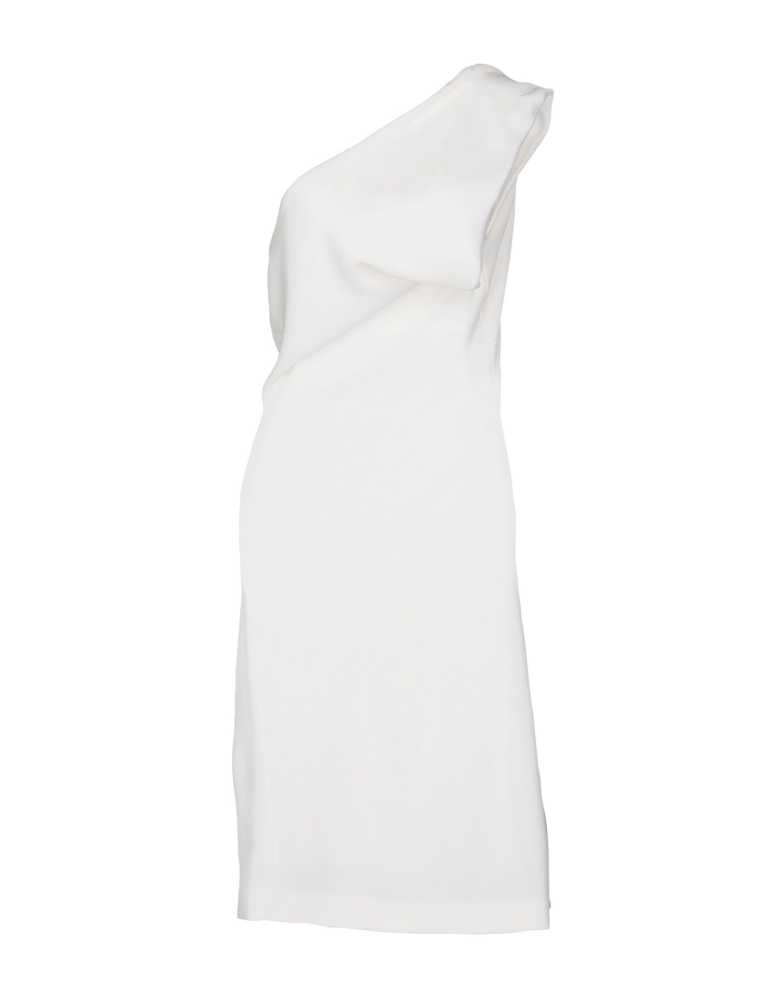 DSQUARED2 Damen Kurzes Kleid Farbe Elfenbein Größe 7 jetztbilligerkaufen