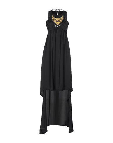 Фото - Платье до колена от ANNARITA N. черного цвета
