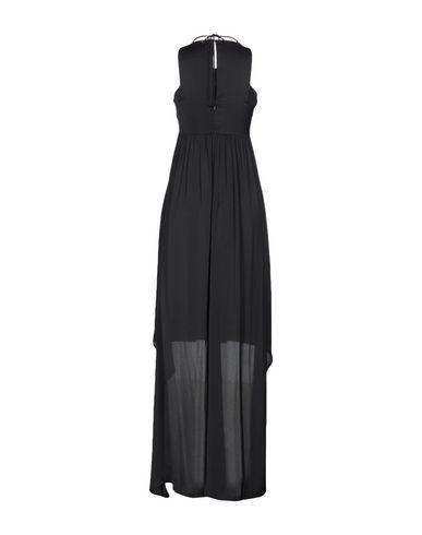 Фото 2 - Платье до колена от ANNARITA N. черного цвета