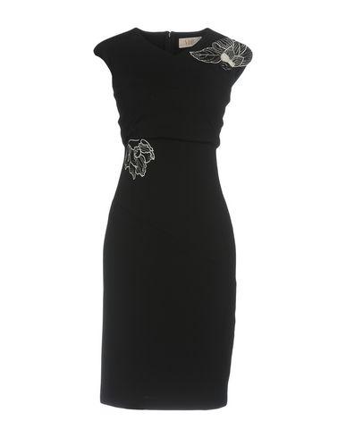 Фото - Женское короткое платье VDP COLLECTION черного цвета
