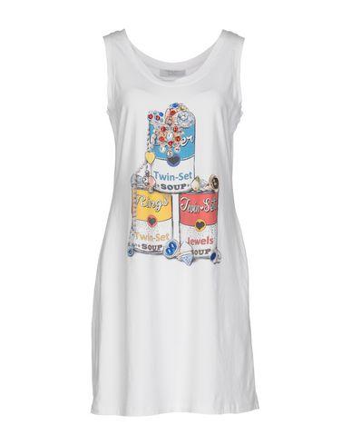 Фото - Женское короткое платье TWINSET белого цвета