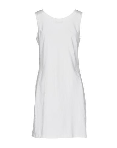 Фото 2 - Женское короткое платье TWINSET белого цвета