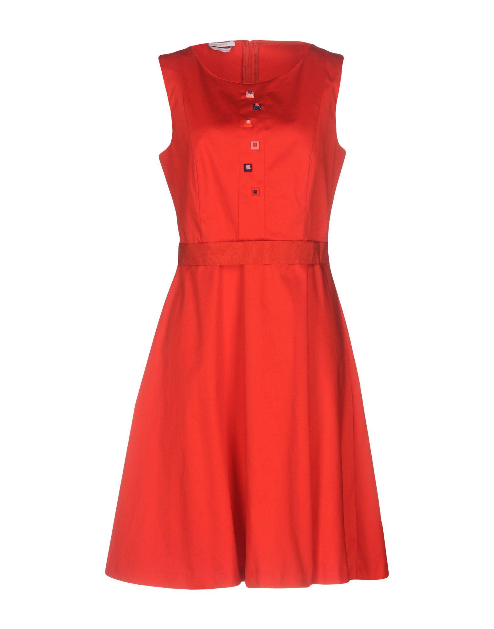 где купить BIANCOGHIACCIO Платье до колена по лучшей цене