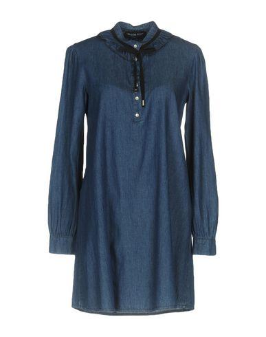 Фото - Женское короткое платье VANESSA SCOTT синего цвета