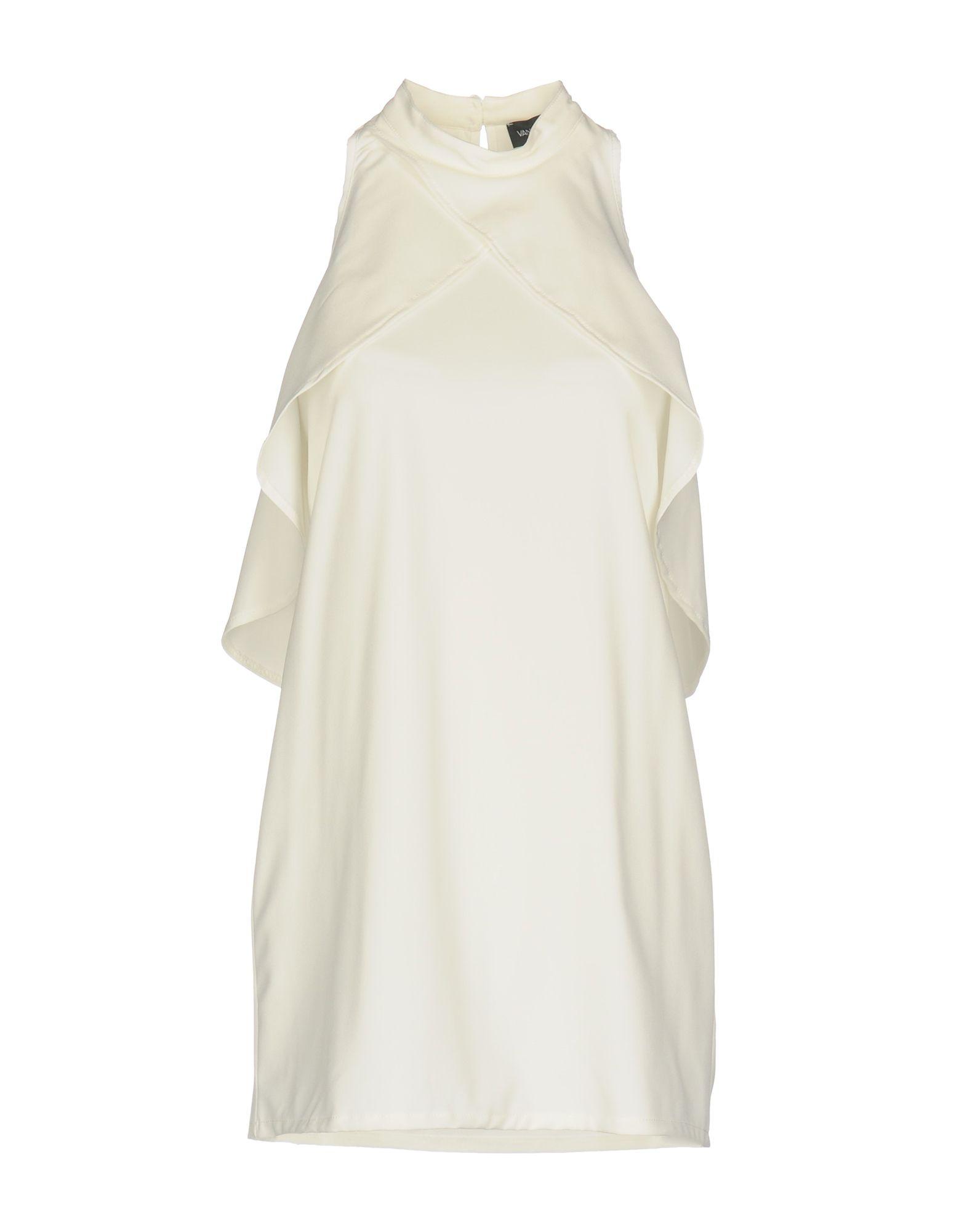 VANESSA SCOTT Короткое платье vanessa scott комбинезоны без бретелей