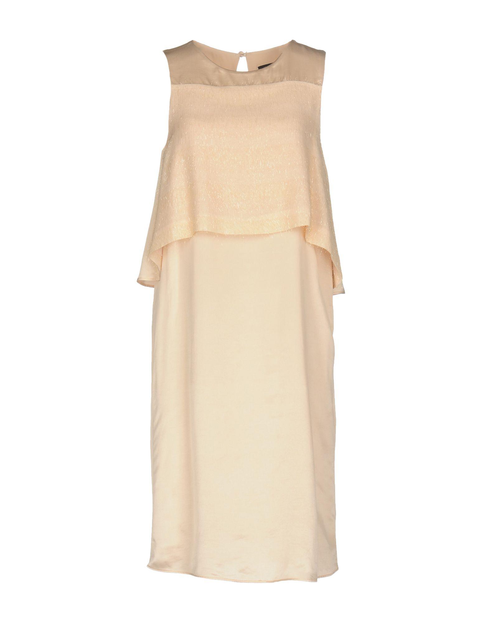 KATIA G. Damen Knielanges Kleid Farbe Hellrosa Größe 6 jetztbilligerkaufen