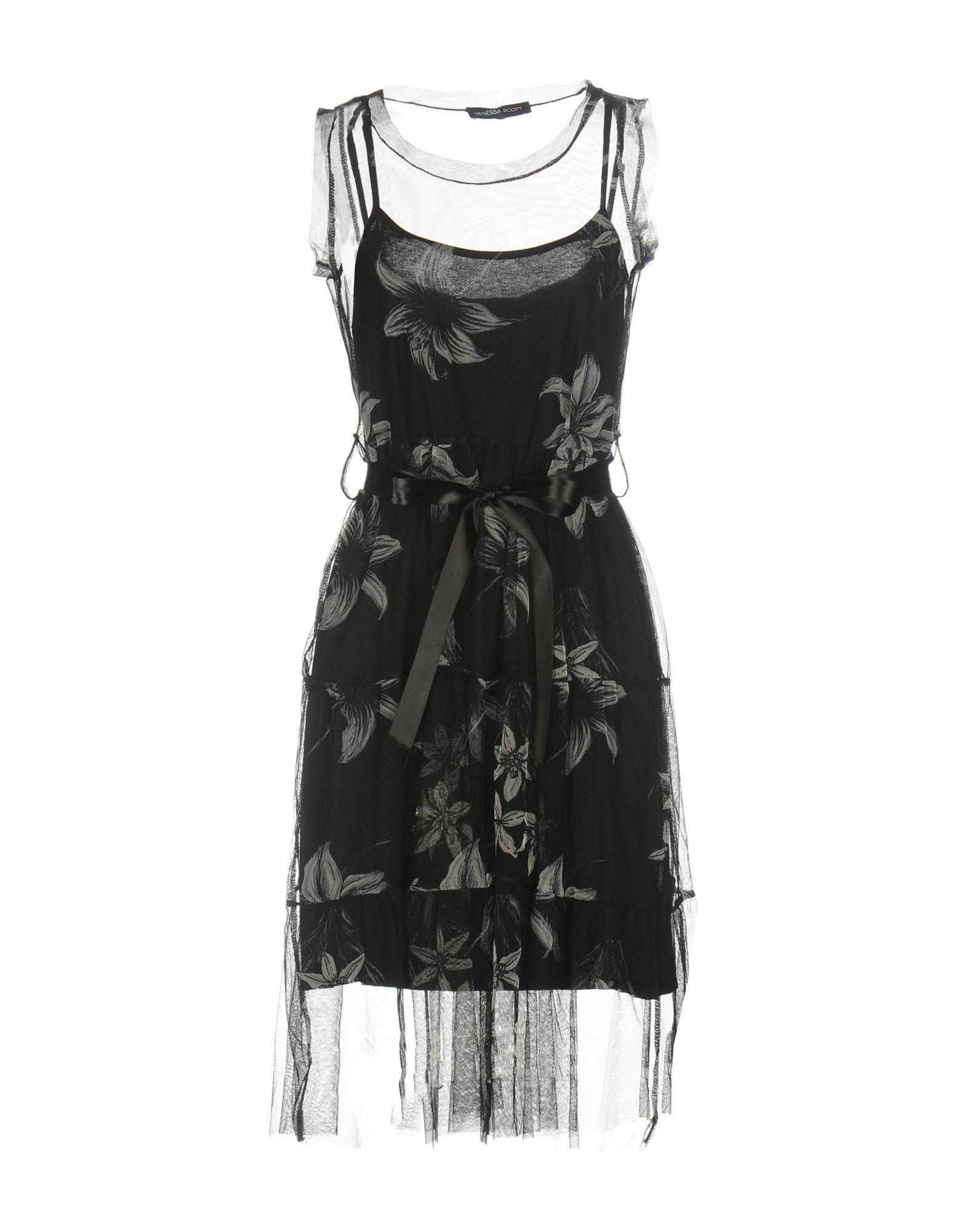 VANESSA SCOTT Платье до колена neeru kumar платье до колена