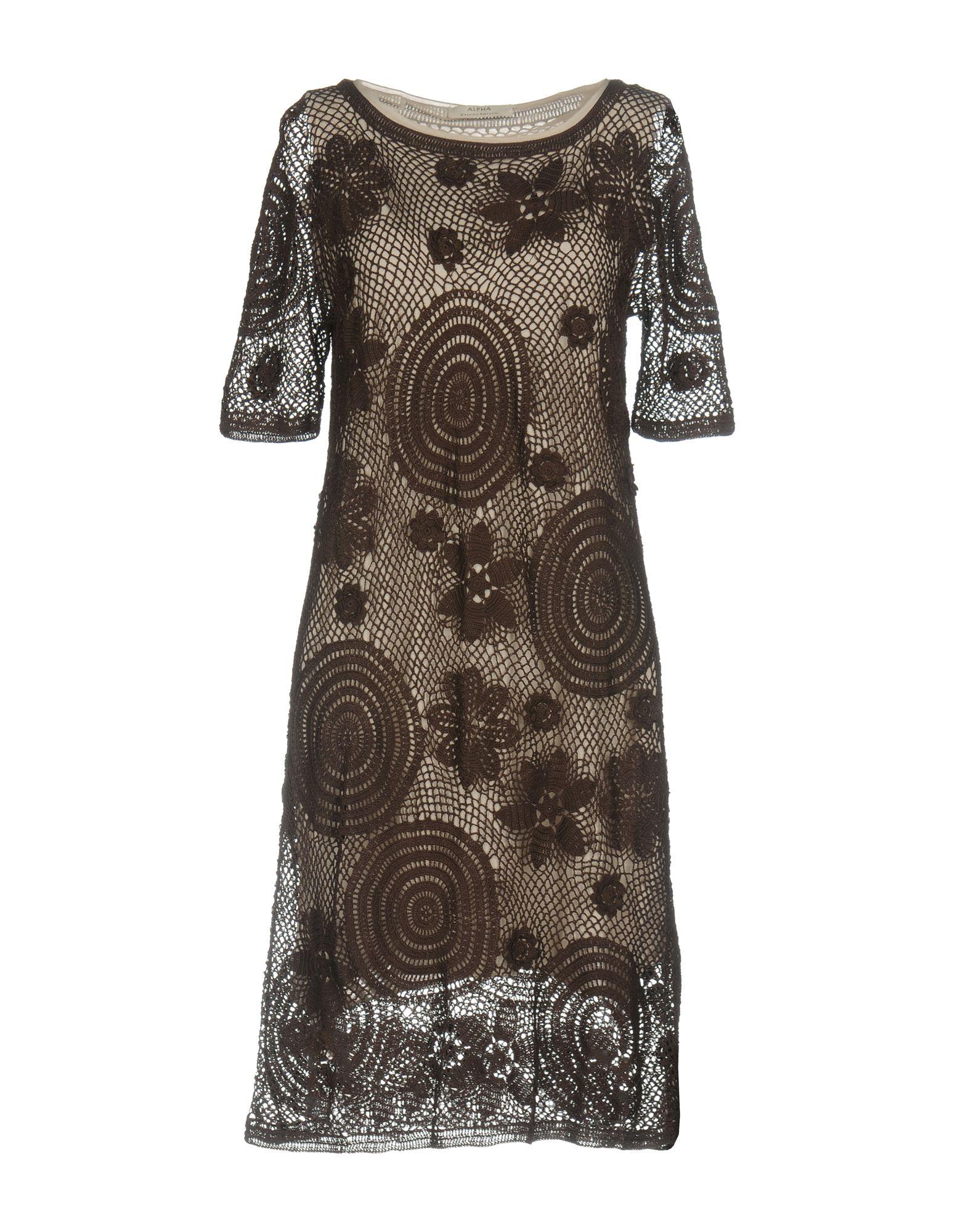 ALPHA MASSIMO REBECCHI Короткое платье alpha massimo rebecchi платье длиной 3 4
