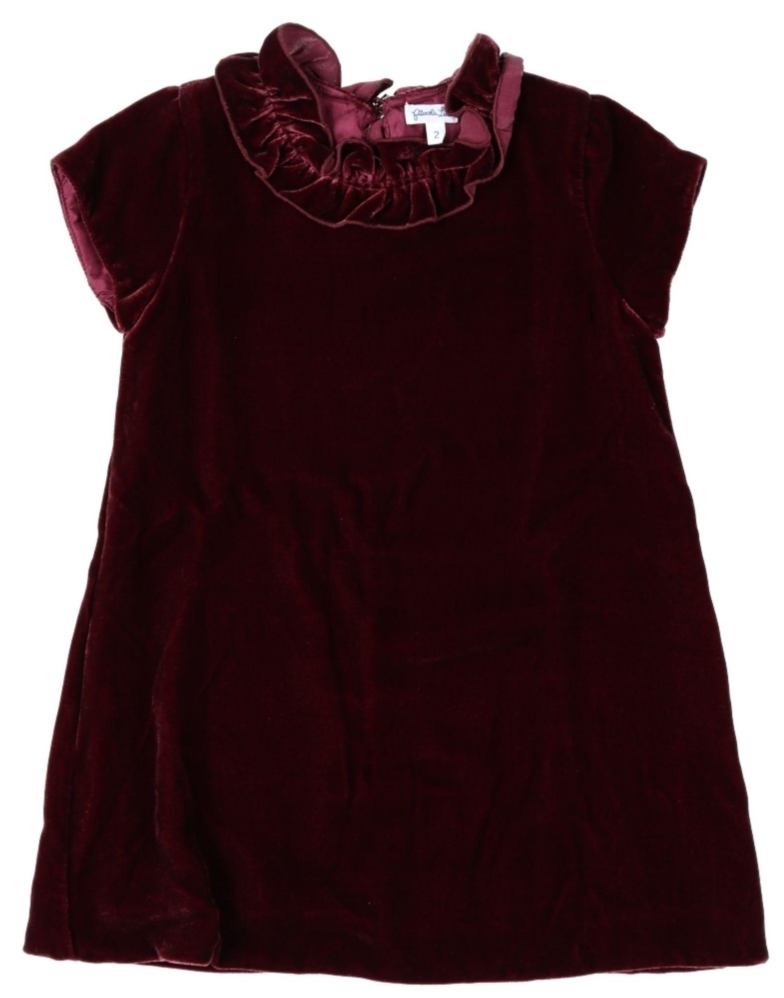 PICCOLA LUDO Mädchen 0-24 monate Kleid Farbe Pflaume Größe 10 - broschei