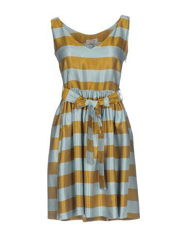 Купить Женское короткое платье  небесно-голубого цвета