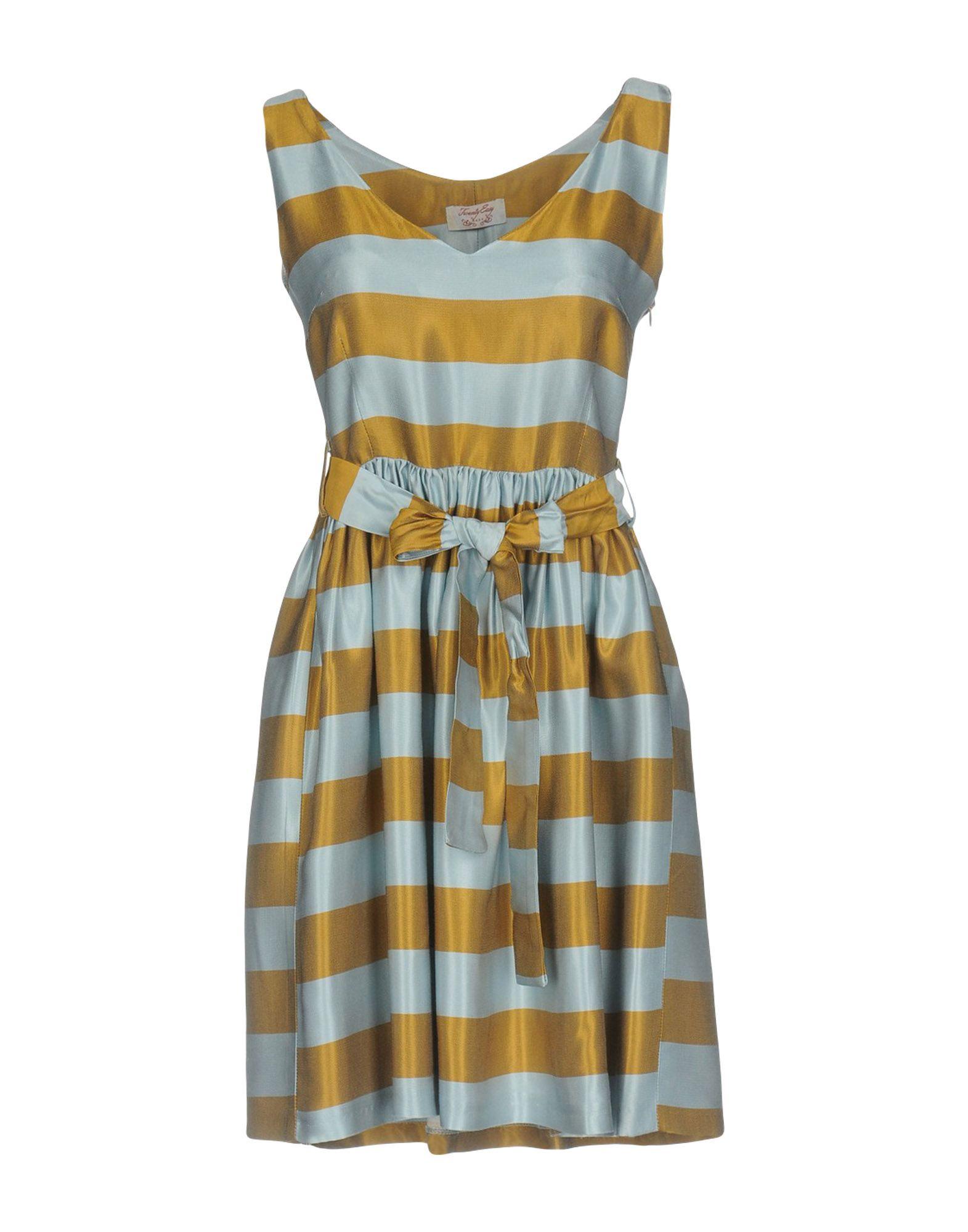 TWENTY EASY by KAOS Damen Kurzes Kleid Farbe Himmelblau Größe 6 - broschei