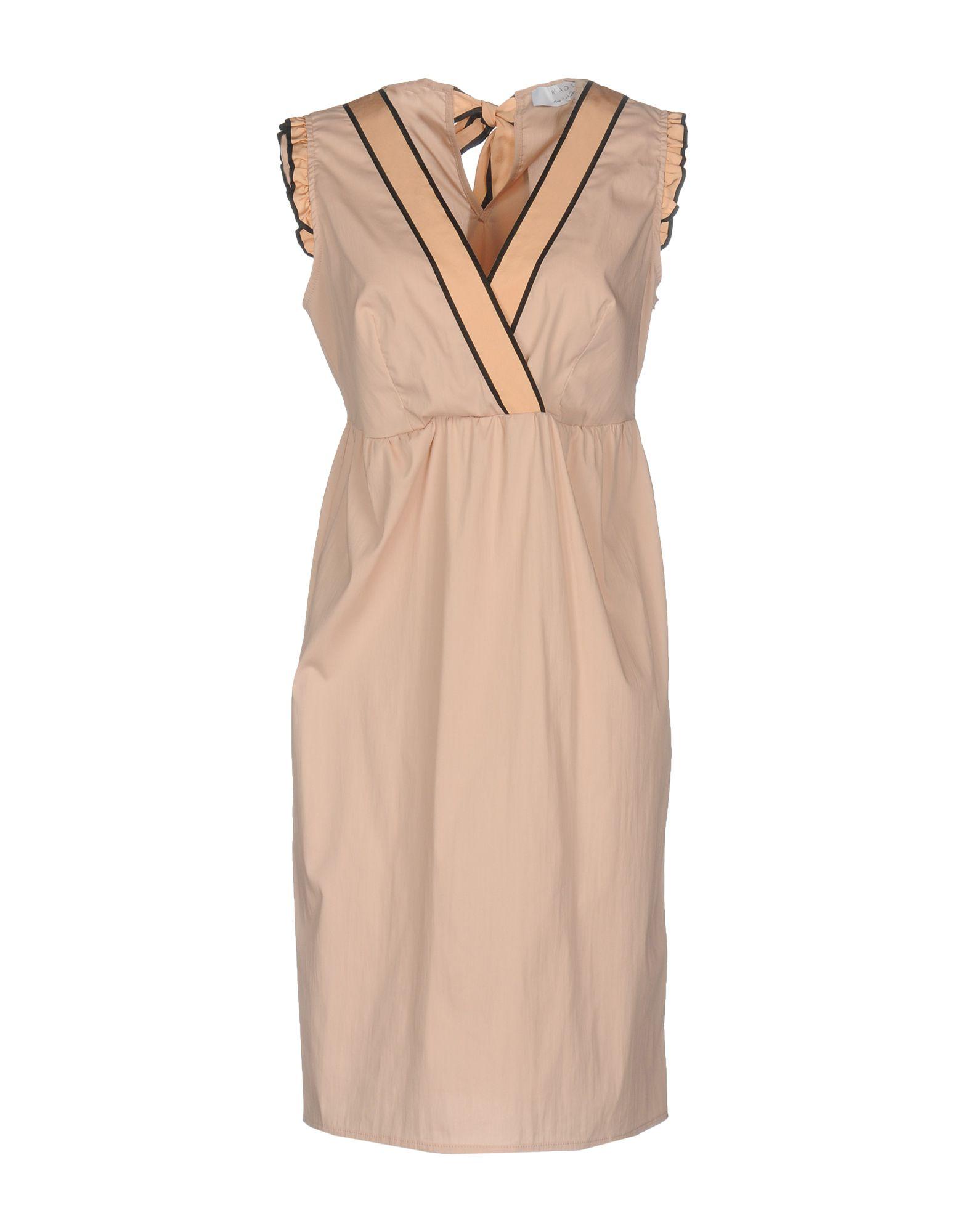 KAOS Damen Kurzes Kleid Farbe Rosa Größe 7 - broschei