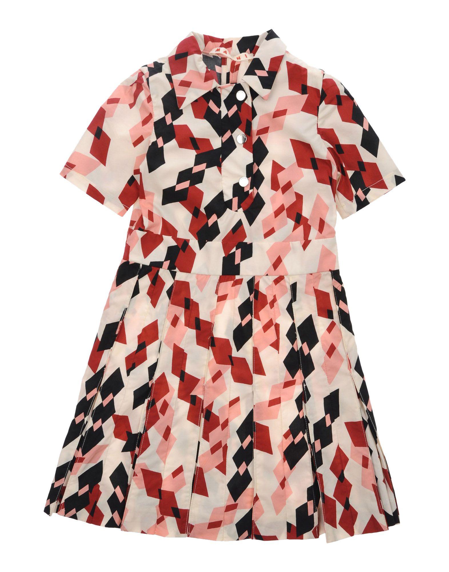 MARNI Mädchen 0-24 monate Kleid Farbe Elfenbein Größe 10 - broschei