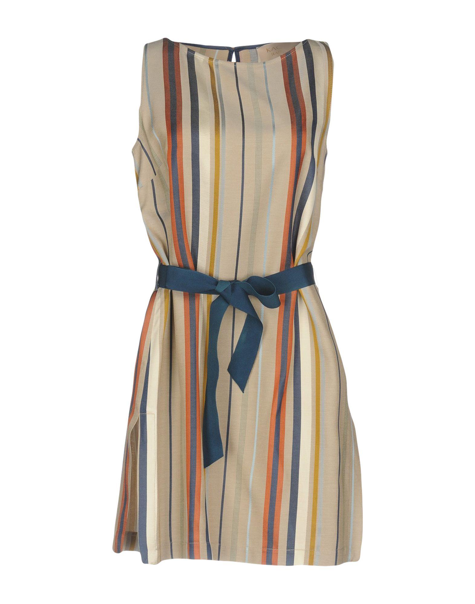 где купить KAOS JEANS Короткое платье по лучшей цене