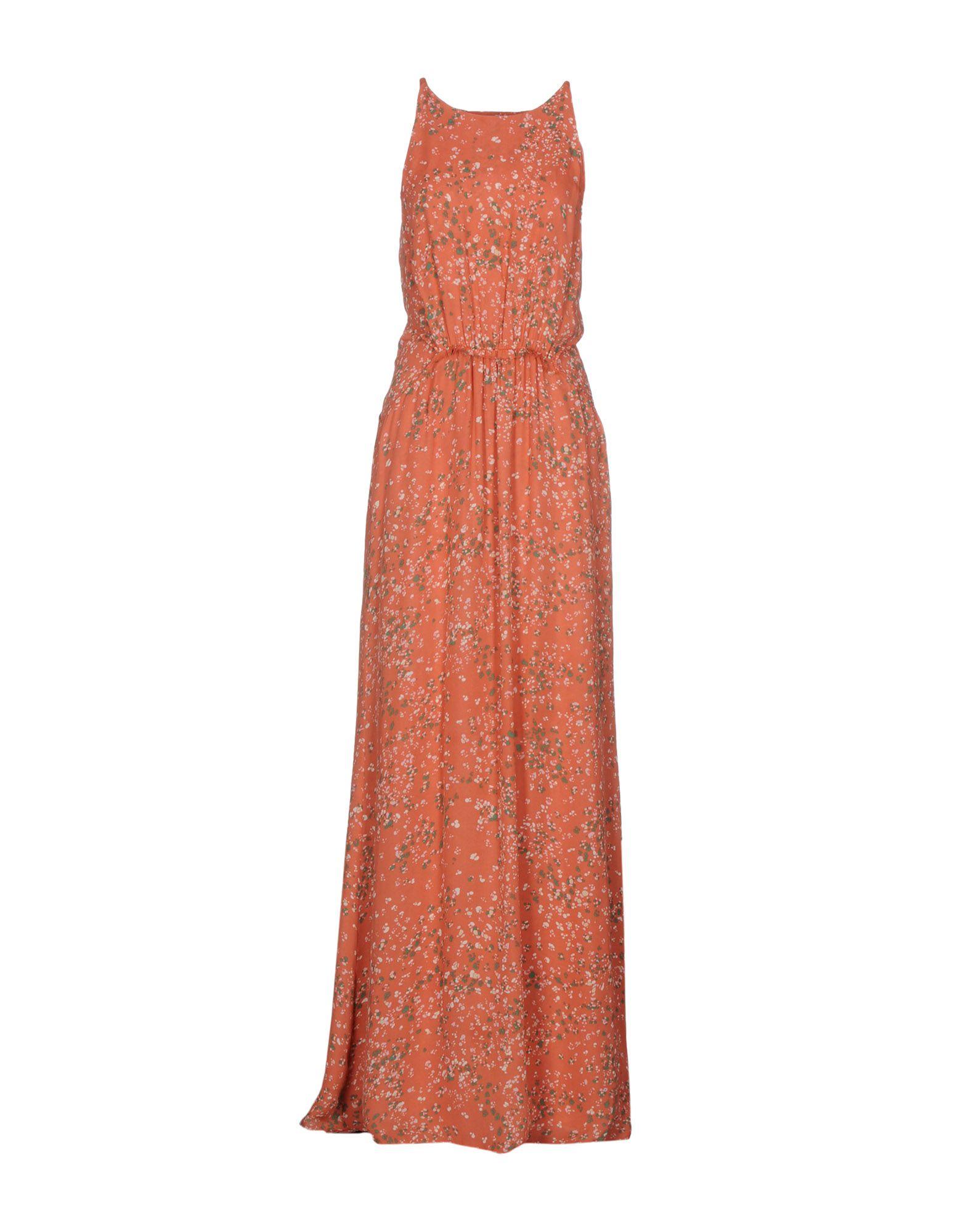 INTROPIA Damen Langes Kleid Farbe Purpur Größe 4 - broschei