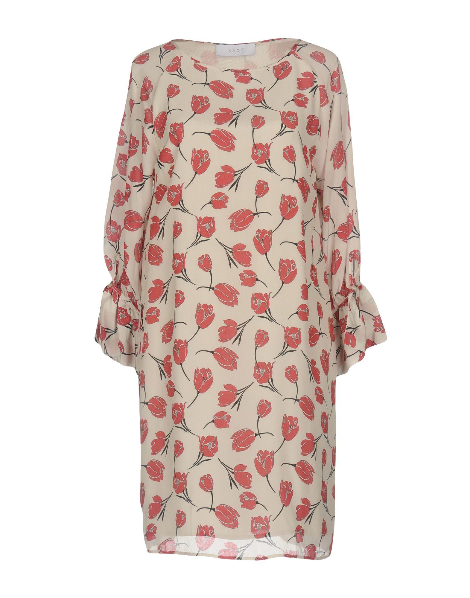 KAOS Damen Kurzes Kleid Farbe Beige Größe 7 jetztbilligerkaufen