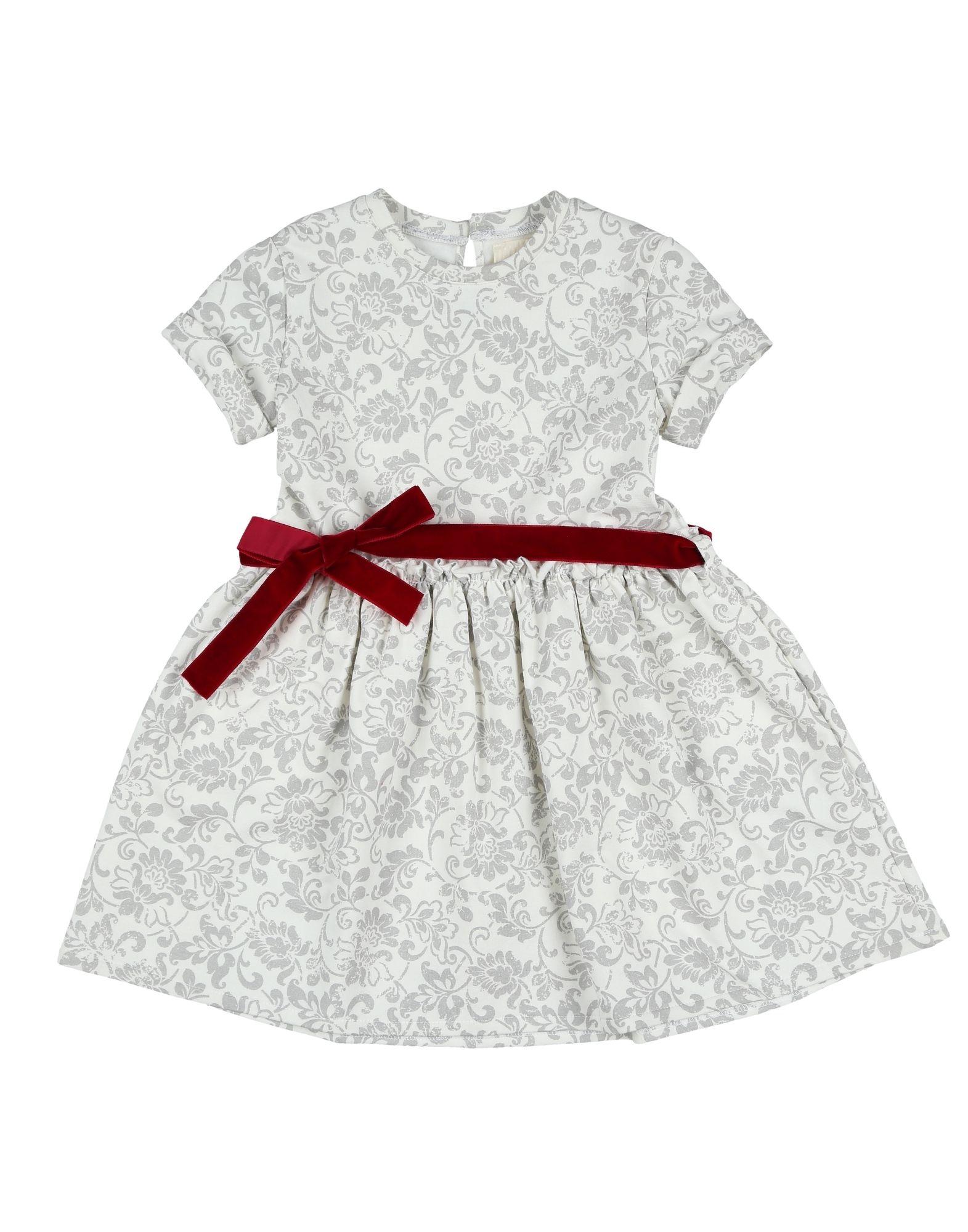 DREAMERS Mädchen 3-8 jahre Kleid Farbe Elfenbein Größe 1 - broschei