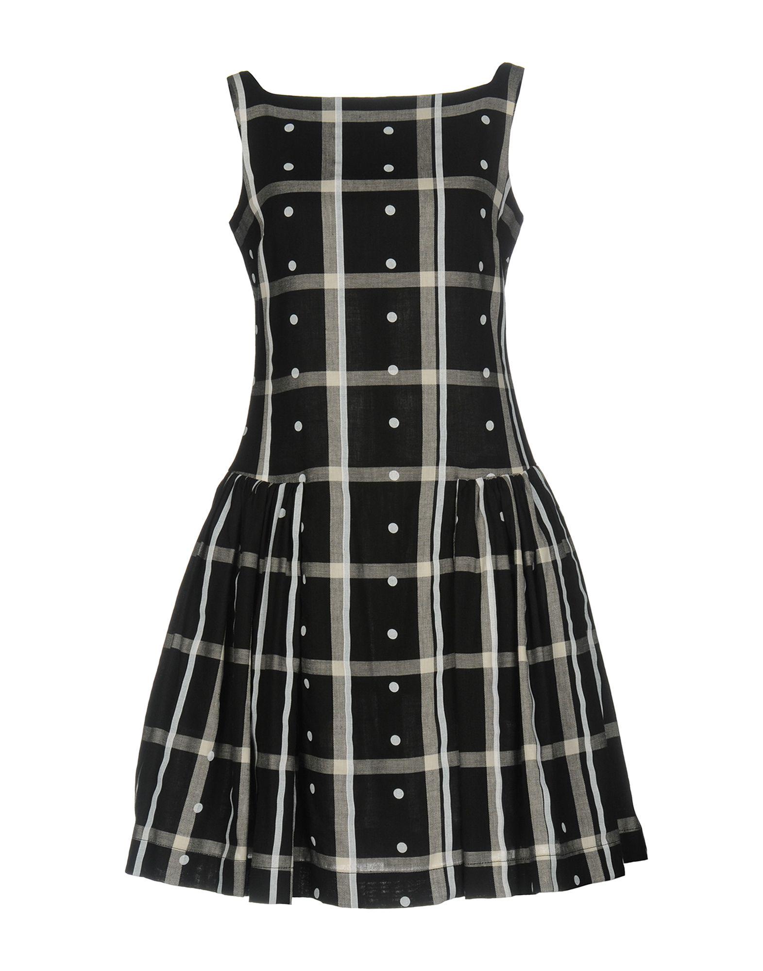 VIVIENNE WESTWOOD ANGLOMANIA Damen Kurzes Kleid Farbe Schwarz Größe 4 - broschei