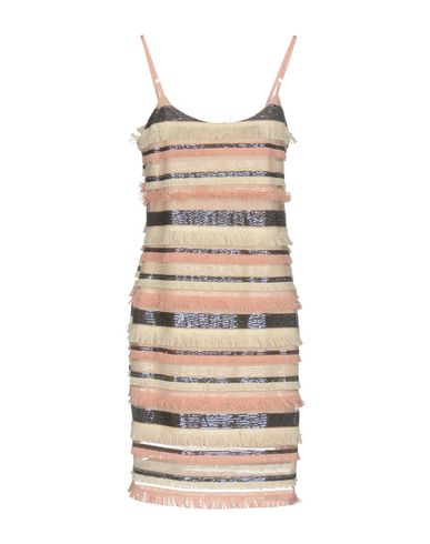 Фото 2 - Платье до колена розового цвета